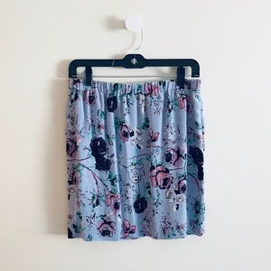 Urban Outfitters Silence + Noise silk floral skirt